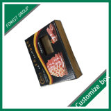 Rectángulo barato de encargo de la carne de la cartulina de la impresión