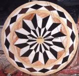 ホテルホールのための自然な大理石の石造りのWaterjet円形浮彫り