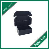 工場価格の円形の黒いボール紙のギフト用の箱の包装