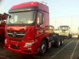 Beiben V3 480HP 6X4 무거운 트랙터 헤드 트럭