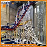 アルミニウムプロフィールのための縦の粉のコーティングプラント