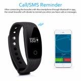 Verre Drijver van Fitnessd van de Herinnering van het Tarief van het Hart van het Horloge van de Armband van Diggro ID107 vangt de Slimme Call/SMS Manchet voor Androïde Ios