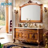 Muebles de madera del cuarto de baño de Soild (BF-8068)