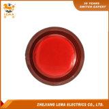 Commutateur micro Pbs-003 de 3A 8A 16A de bouton poussoir rouge électrique du plastique DEL