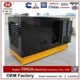 generador de potencia diesel silencioso 50kVA/40kw con el motor de Lovol