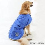 Imperméable à l'eau imperméable à l'eau Manteau en peluche Outdoor Dog Raincoat