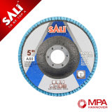 Disco de la solapa del Zirconia de T27 100m m China para el acero inoxidable