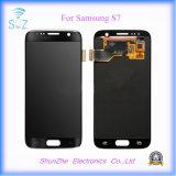 SamsungギャラクシーS7 G9300 G930fタッチ画面の表示のための移動式スマートな電話LCD