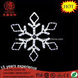 LED Outdoor Silhouette IP65 Blanc 40cm Flan de neige Pendentif Lumière de corde de corde