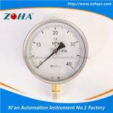 Calibre de pressão de alta pressão com resistência à vibração