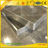 CNC van de Douane van de Fabriek van het aluminium de Scherpe Frames van de Hoek van het Aluminium van het Lassen