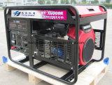 바퀴와 건전지를 가진 쿠에이트 시장에 대중 가솔린 발전기