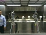 Roboter-automatische UVspray-Beschichtung/Farbanstrich-Zeile für Sturzhelme