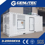 generatore diesel messo in recipienti di iso Cummins di 20FT 1 Mw