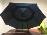 خارجيّة مستقيمة لعبة غولف مظلة آليّة صامد للريح