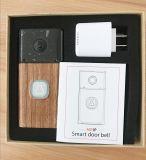 Mini appareil-photo de sonnette de garantie de la taille 1080P d'IP de maison sans fil d'appareil-photo