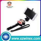 Mini Selfie palillo sin hilos plegable de Bluetooth Selfie del palillo de 2016