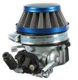 Filtro dell'aria del carburatore Carburetor+ per 49cc 50cc 60 66 bici motorizzata colpo 80cc 2