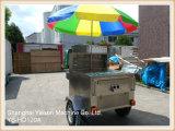 Ys-HD120A Openlucht Mobiel van de Kiosk van het Voedsel van de Kiosk van Frieten