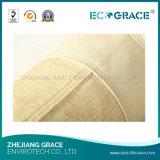 Ecograce Nomex Aramid bolsa de filtro de bolsa de polvo de alta eficiencia
