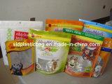 Animal doméstico Food Bag con Zipper y Hang Hole