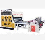 紙箱の印刷および細長い穴がつく機械装置