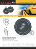 Carall Fk-L75 Automechanika Bell Alarm Brand New Twin Pack Power Magic Voice Anel Tone DC 12V Auto Parts E9 Speaker Disc Car Horn