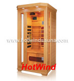 Sauna en bois portatif de pièce de sauna de l'infrarouge 2016 lointain pour 1 personnes (SEK-C1)