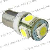 luz de indicador del coche de 5SMD LED (BA9S)