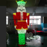 Navidad de Halloween Decoración comercial cascanueces de Iluminación en invierno al aire libre