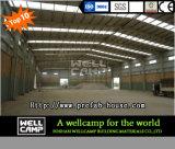 Proyecto de Qatar ampliamente utilizado estructura de acero para almacén