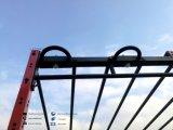 Tire hacia arriba de la barra del soporte del aparejo con patas aérea con patas barra del levantamiento de Crossfit Jaula Crossfit Equipo de aparejo Inicio