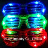 LED imprimée personnalisée allume les lunettes à fente