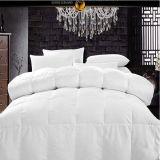 Het witte Linnen van het Bed van het Hotel voor het TextielDekbed van het Lapwerk (DPF201618)