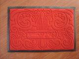 Tapis de polyester avec le support en caoutchouc