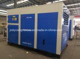 Compresor doble refrescado aire inmóvil de Oilless de los tornillos