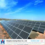 vidrio solar modelado Inferior-Hierro de 3.2mm/4m m/vidrio Tempered