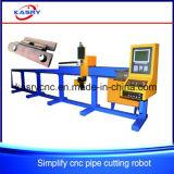 Автомат для резки плазмы CNC трубы для отверстия седловины/Drilling отверстия/торгового автомата
