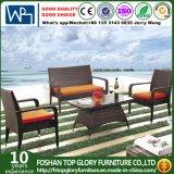 PET Rattan u. Aluminium-Möbel für im Freiensofa (TG-1300)