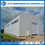 Modèle d'entrepôt de structure métallique pour le bureau de construction d'atelier d'entrepôt