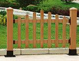 Cerca de WPC, cerca do jardim, cercas compostas plásticas de madeira