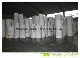 Hochwertiges überzogenes weißes Duplexvorstand-Papier mit Grau-Rückseite