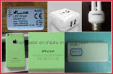 Garrafa de água / Embalagem de alimentos Sacola Máquina de marcação Laser com linha de produção