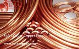 Tubo suave del cobre del genio