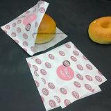명확한 Windows 빵 종이 봉지를 가진 예리한 밑바닥 음식 부대