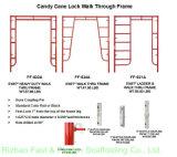 camminata resistente di w-Stile 5 ' *6'7 '' attraverso i blocchi per grafici (FF-632A)