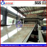 Panneau de mur de marbre de Faux de PVC/chaîne production de panneau/feuille machine