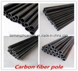 Tubo de la fibra del carbón de la Ultravioleta-Protección con alta calidad