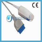 Sensore adulto della clip SpO2 della barretta di GE M8000I/Dash2500, 11pin, 3m (modulo del oximax)