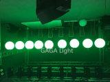 Bola de elevación de la barra DMX RGB LED del club del disco